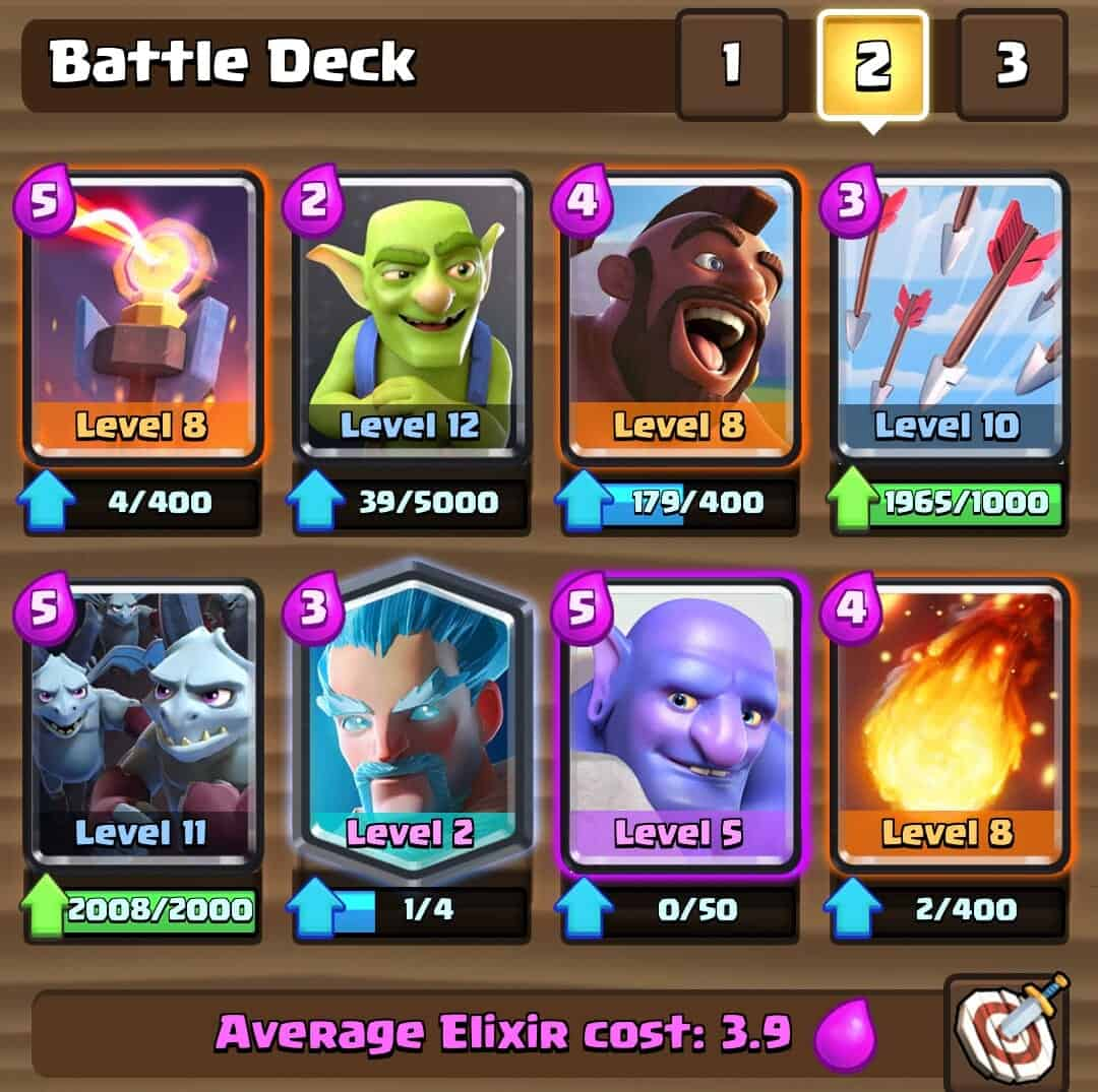 The Quot Hobo Quot Deck Reach 4000 Easily Clash Royale Wiki