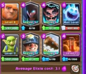 3 1 Miner Giant Grand Challenge Deck Clash Royale Wiki