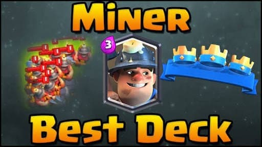 3 1 miner giant grand challenge deck clash royale wiki