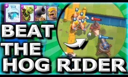 Countering The Hog Rider- Cards and Strategies