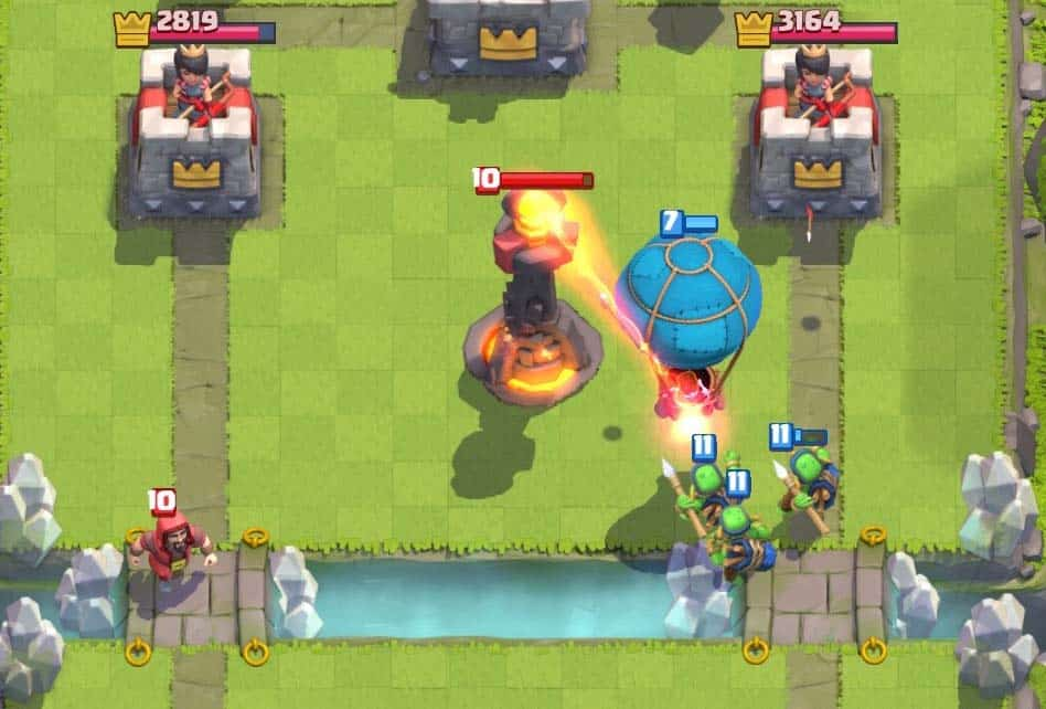 How To Kite Troops Clash Royale Wiki